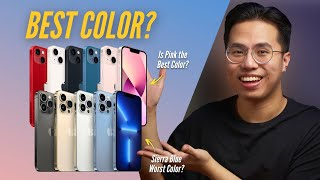 Ranking iPhone 13 and 13 Pro Colors from WORST to BEST - Is Pink or Sierra Blue the Best Color?