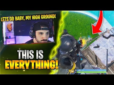 How To Keep Highground In Competitive Fortnite