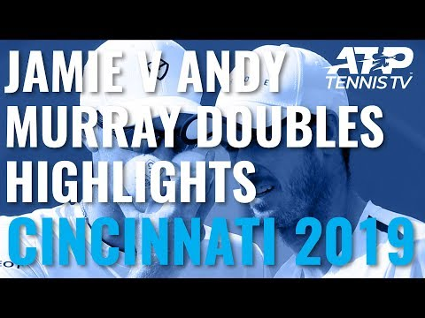 Best Shots And Rallies As Jamie Murray Beats Andy Murray In Doubles! | Cincinnati 2019 Day 5