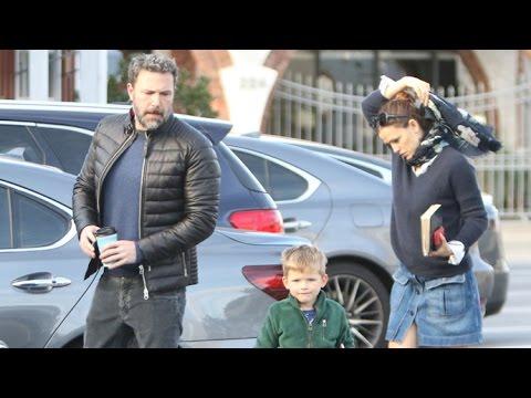 Ben Affleck And Jennifer Garner Step Out With Samuel After Spending Thanksgiving Weekend Together
