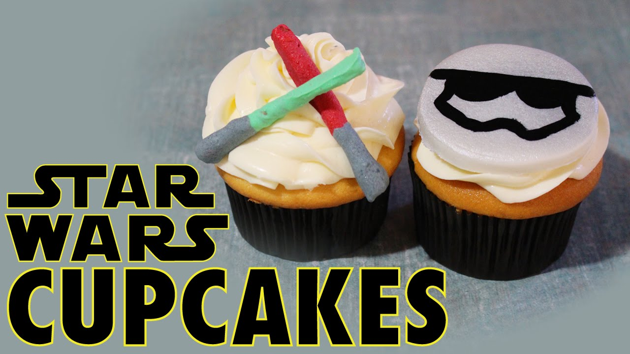 EASY Star Wars Cupcakes Tasty Delights YouTube