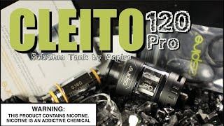 """""""CLEITO 120 PRO"""" Subohm Tank by Aspire ~Vape Tank Review~"""