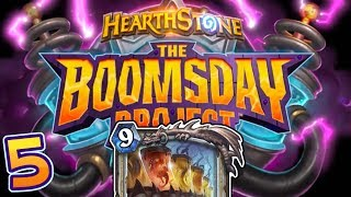 BOOMSDAY PROJECT REVIEW #5 - Legendary Priest Spell!   Hearthstone