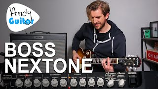 BOSS NEXTONE ARTIST | Unboxing and review