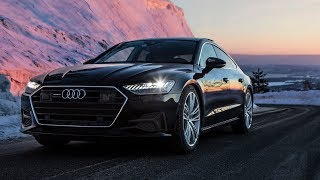 FINALLY! The NEW 2018/19 AUDI A7 (340hp/500Nm) - The topmodel and technology master in one