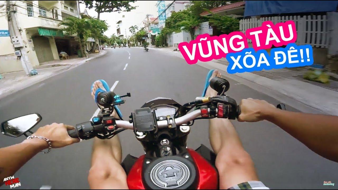 PHƯỢT VŨNG TÀU | ANYWHEREMAN TRAVEL VLOG | Vietnam motovlog