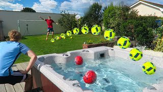 EXTREME GARDEN FOOTBALL CHALLENGES Video