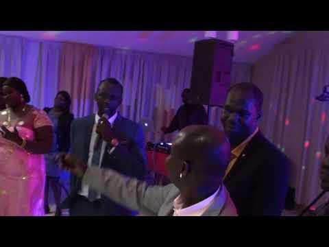 South Sudanese artist Papa Chol live in Calgary Oct 20, 2017