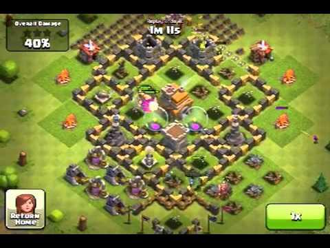 Clash of clans 400k+ Good morning Raid