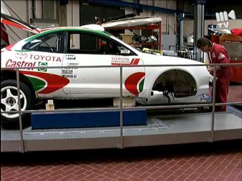 Toyota Team Europe 1995 - Krzysztof Hołowczyc