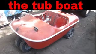 Amphibious Vehicle Restoration