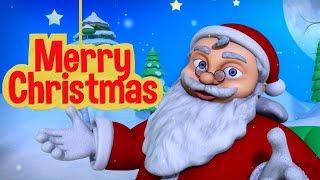 Jingle Bells Song for Children | Christmas Rhymes for Kids | Infobells