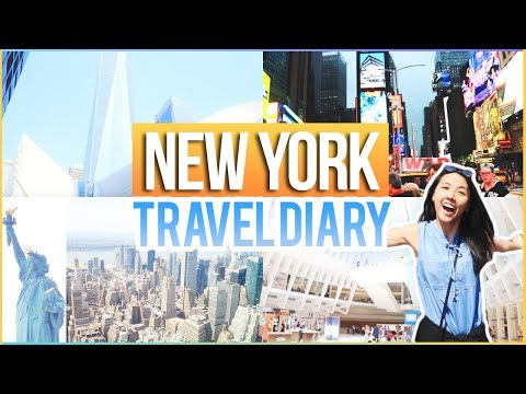 ✈️NEW YORK Travel Diary! Summer VLOG 2017: Statue of Liberty, Empire State Building++! | Katie Tracy