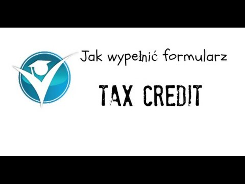 Jak Wypelnic Formularz Tax Credit Child Tax Credit Working Tax Credit