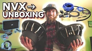 NVX Car Audio UNBOXING! EXO's Complete Sound System Setup For 04' IMPALA Trunk Bass Install