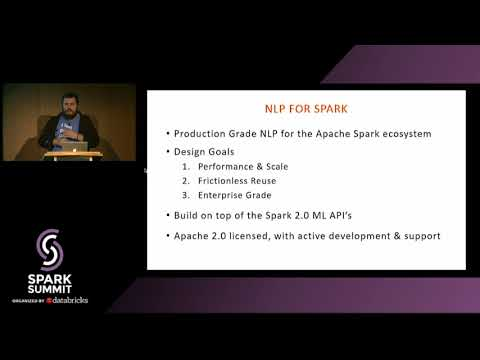Natural Language Understanding at Scale with Spark Native NLP, Spark ML &TensorFlow with Alex Thomas