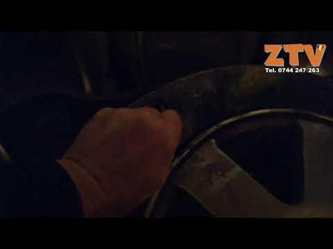 I-au taiat cauciucurile corespondentului ZTV, Enache Sosoi