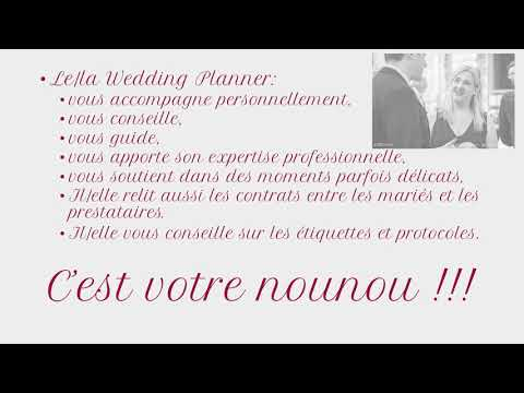 Le rôle d'une Wedding Planner en 10 points
