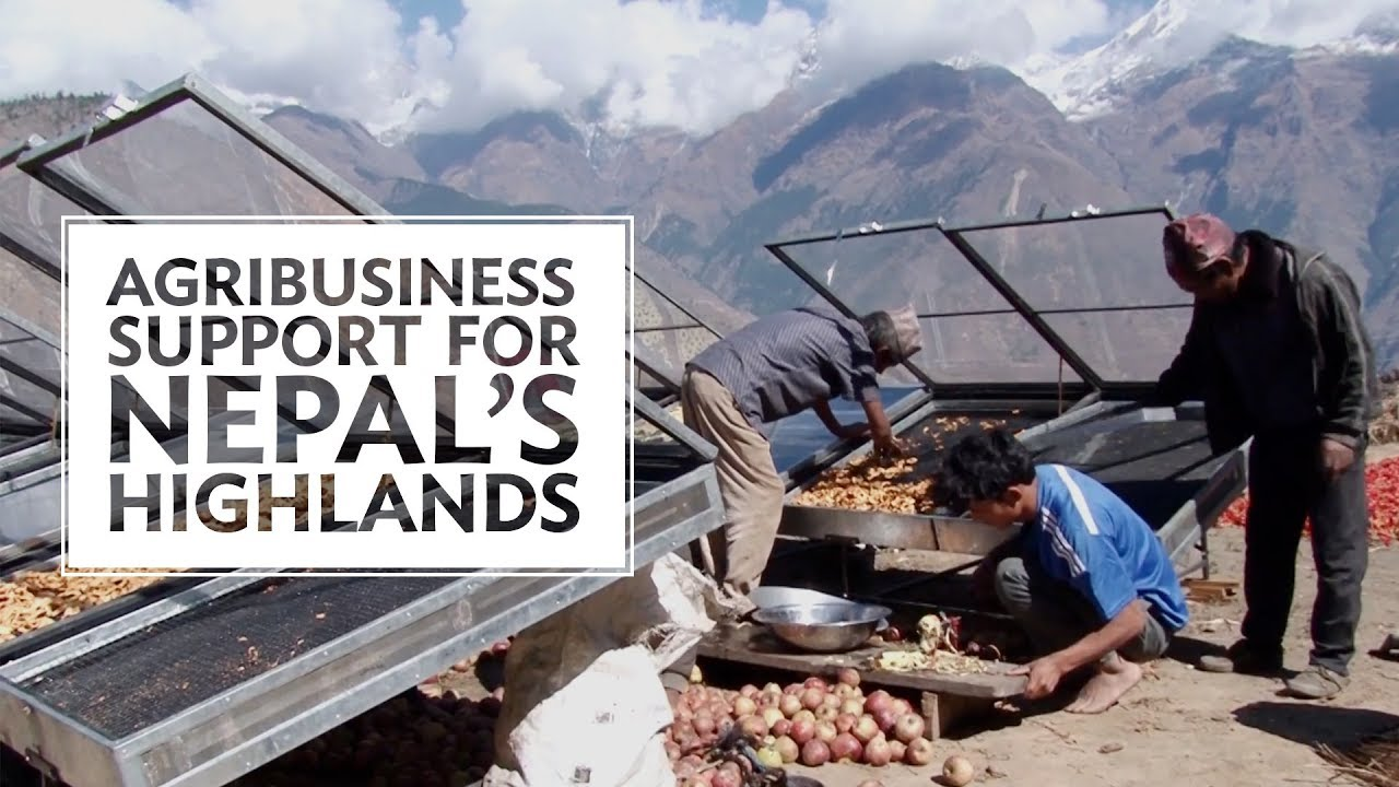 Nepal's Highland Areas Jump to New Highs with Agribusiness Support