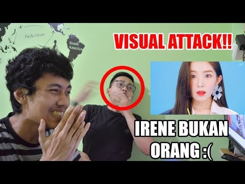 RED VELVET - POWER  UP MV REACTION ( VISUALNYA GOKILLL!! )