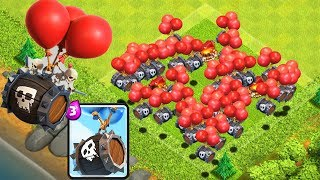ТЕСТ НОВОГО ЮНИТА В CLASH OF CLANS! БОЧКА КОСТЕЙ ☠️☠️☠️