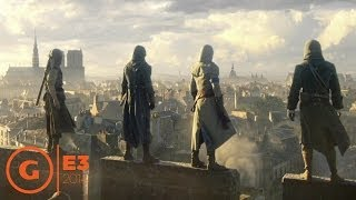 assassin s creed unity e3 2014 trailer at ubisoft press conference