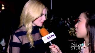 Into The Woods Interview  with Lilla Crawford,  Mackenzie Mauzy...Video By Bin Song