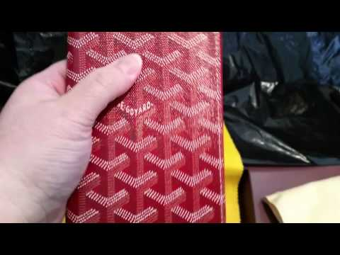 Goyard and Louis Vuitton unboxing
