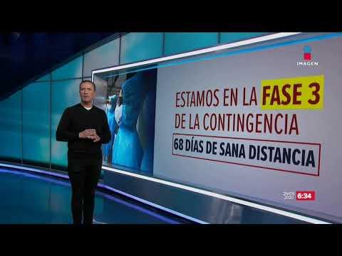 El Covid-19 en México no cesa, así avanza | Noticias con Francisco Zea