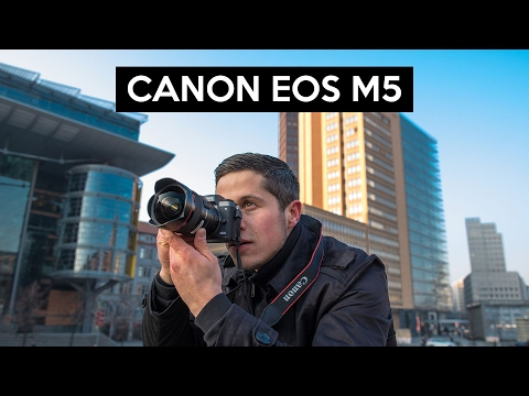 Canon EOS M5 english review | great VLOGGING camera | testet in Berlin with Valuetech.de
