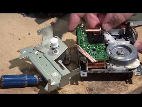 Aiwa ADF 370 Capstan Belt Replacement Procedure