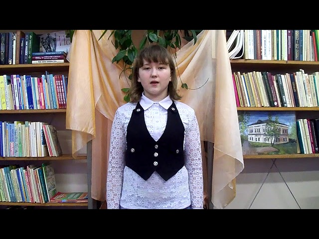 Изображение предпросмотра прочтения – МарияПатласова читает произведение «Осень» А.С.Пушкина