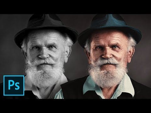Colorize Black and White with Realism in Photoshop thumbnail