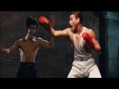 BRUCE LEE vs JEAN CLAUDE VAN DAMME