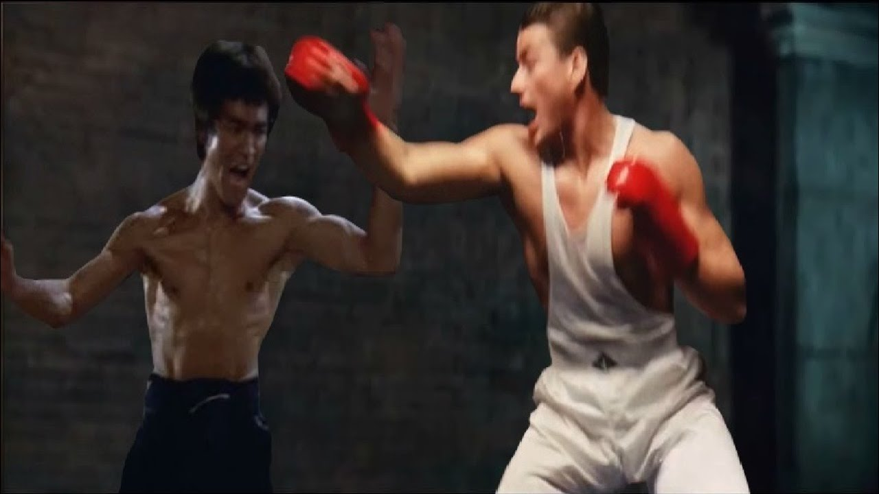 Download BRUCE LEE vs JEAN CLAUDE VAN DAMME