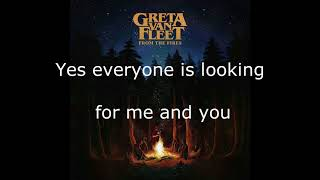Greta Van Fleet - Talk On The Street - Lyrics