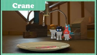 Ep35 Crane | Space Jungle S2 | Funny Cartoon | Kids Cartoon | COAN Studio