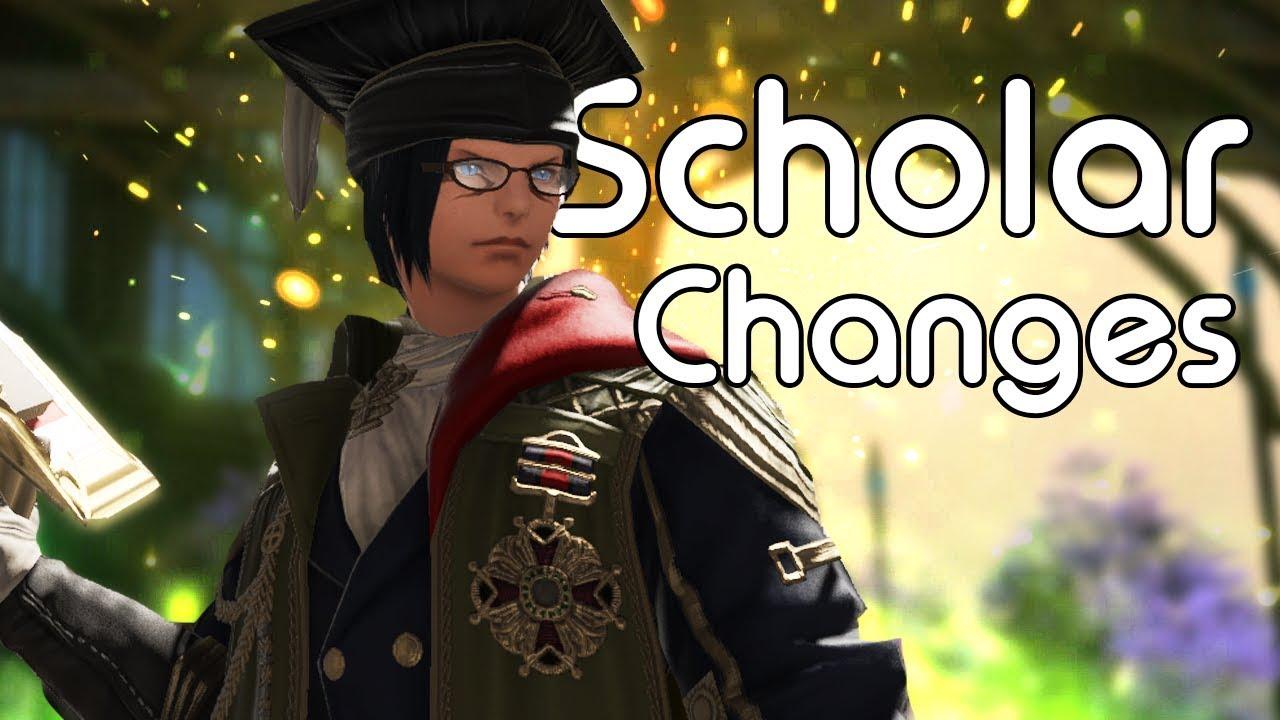 Scholar Changes | FFXIV Shadowbringers Media Tour