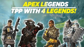 Playing TPP with 4 Legends | Apex Legends India