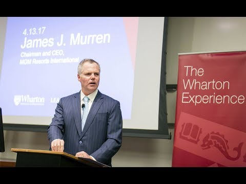 Wharton Leadership Lecture: Jim Murren, CEO, MGM Resorts Int