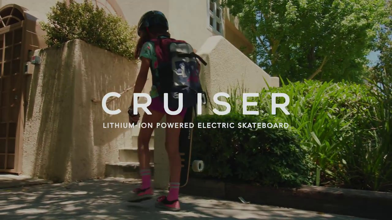 RazorX® Cruiser Electric Skateboard Ride Video