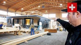 Swiss Modular Home - Under Construction Tour