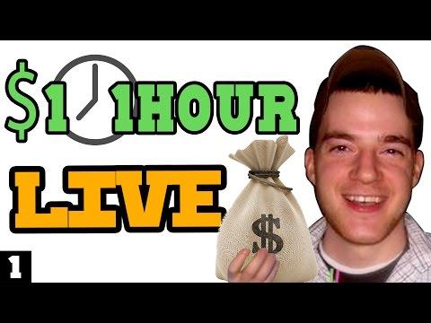 1 Dollar 1 Hour LIVE