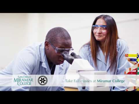 Take Fall classes at Miramar College