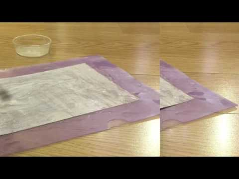 DIY #3 How to make paper soap