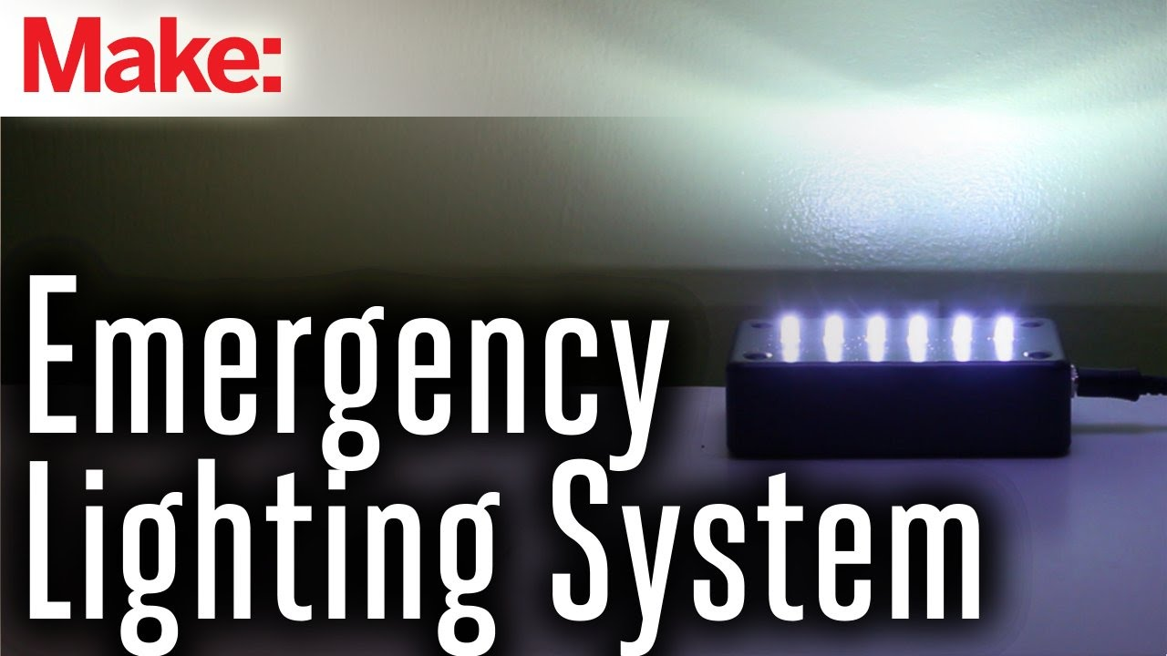 Emergency Lighting System Youtube Dual Powered Circuit