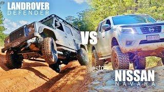 One of TJ Jack's most viewed videos: Defender VS Navara - Offroad adventure test