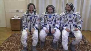 Expedition 36/37 Crew Launch Preps in Kazakhstan
