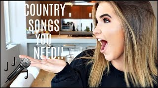 THE BEST COUNTRY MUSIC PLAYLIST!!