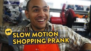 Slow Motion Shopping Prank